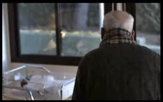 Joan Mascaró de 102 años va a conocer a la recién nacida Aitana