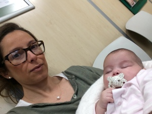 En la sala de espera del Hospital Nisa Pardo de Aravaca