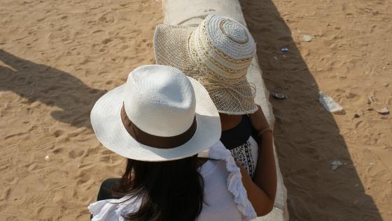 con mamá en egipto